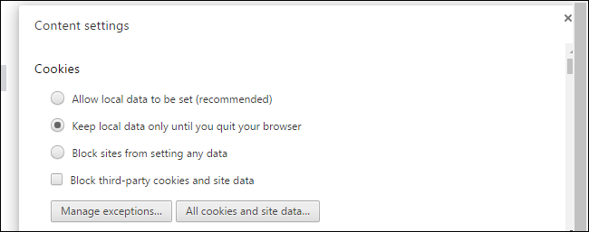 How to optimize google chrome for maximum privacy for example you could tell chrome to automatically clear cookies when you close your browser but set an exception so chrome remembers cookies from a few ccuart Images
