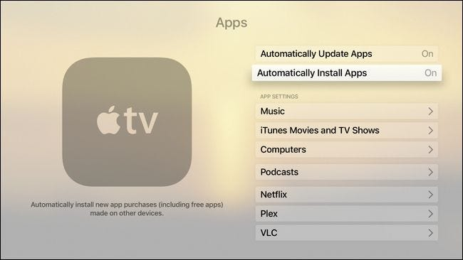 How to Set Your Apple TV to Automatically Install Your