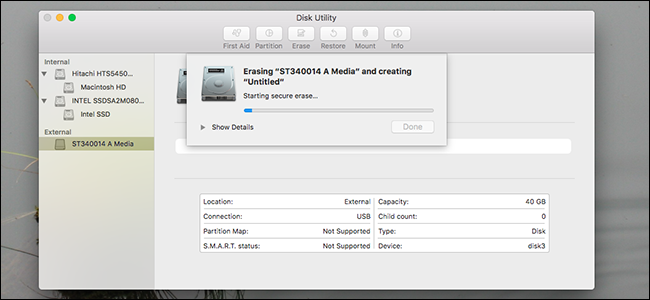 how to delete mac hard drive without disc