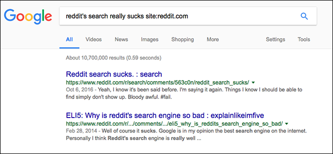 How to Search Any Website, Even If It Doesn't Have a Search Function