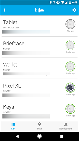How to use tile to find your keys wallet or anything else a grey line indicates that your tile is not nearby if thats the case use the map feature to find where your tile was last seen ppazfo