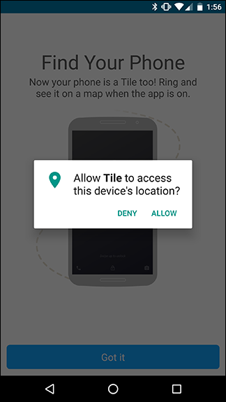 tile mate app. your phone will be added as the first tile device on account even without a mate or slim you can use app web to find