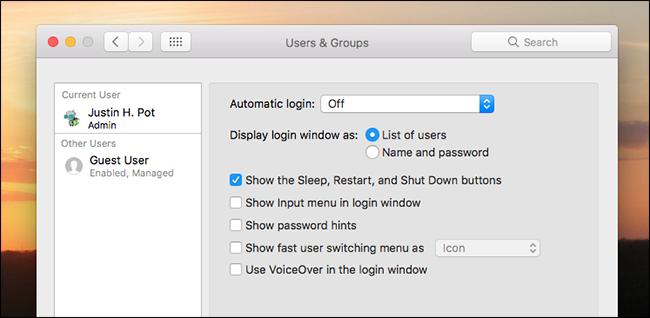 How to Customize Your Mac's Login Screen