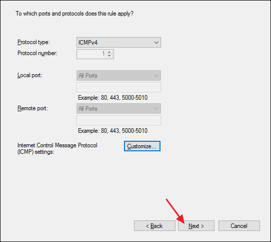 How to Allow Pings (ICMP Echo Requests) Through Your Windows Firewall