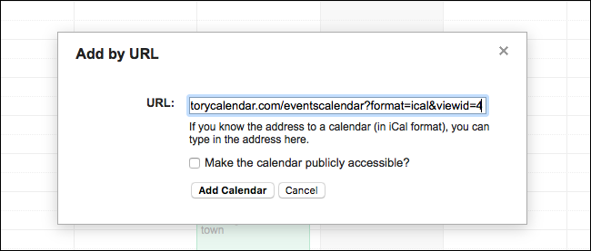 calendars you can type in
