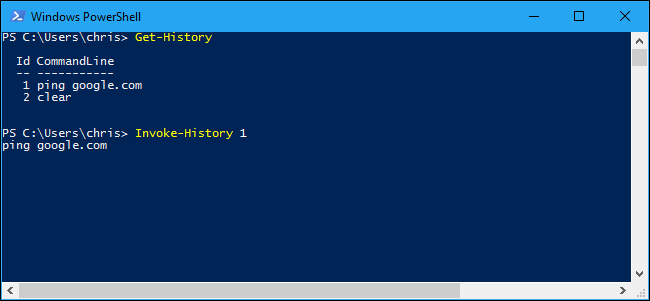 How to Use Your Command History in Windows PowerShell