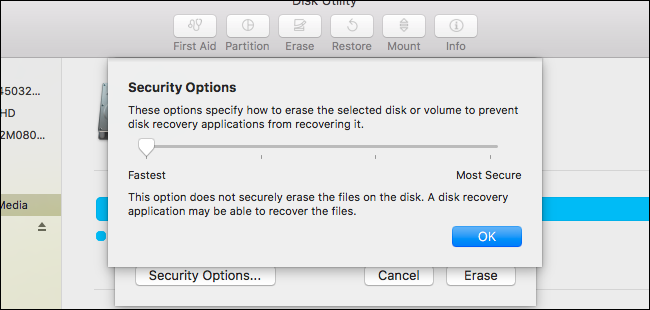how to erase external hard drive completely mac