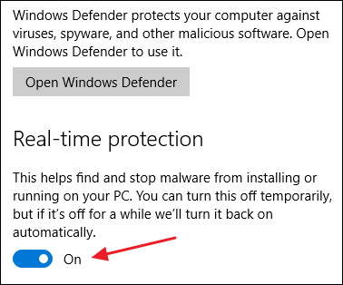 how to remove windows defender in windows 10