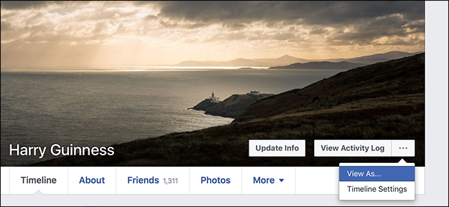 How to View Your Facebook Page as Someone Else