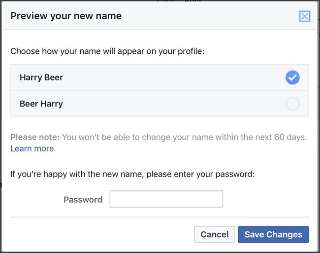چگونه نام کاربری خود را در فیس بوک تغییر دهیم - روش صحیح
