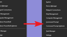 How to Put the Command Prompt Back on the Windows+X Power Users Menu