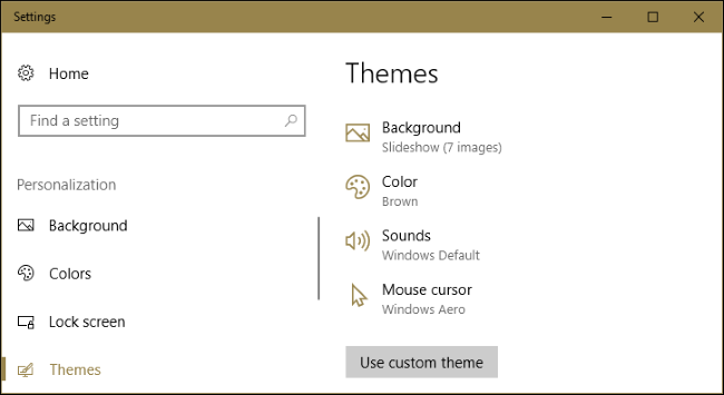How to Install Desktop Themes on Windows 10