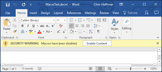 How to Open Office Files Without Being Hacked