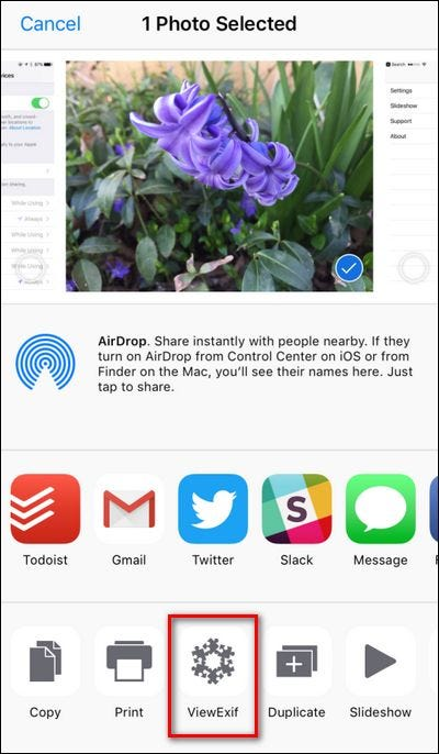 how to send photos to iphone