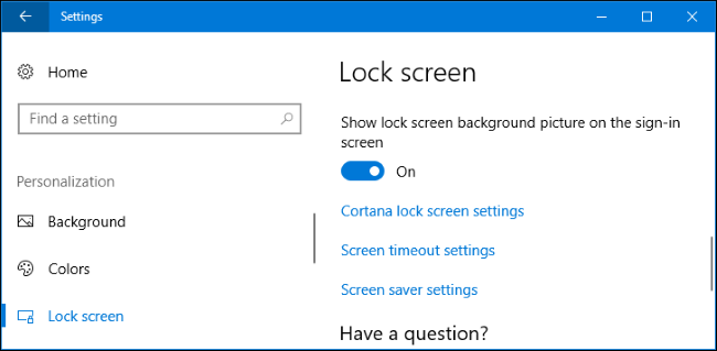 How to change picture on welcome screen windows 10