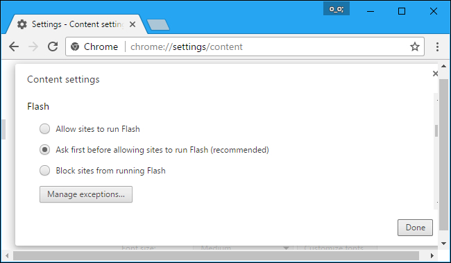 How to Enable Click To Play Plugins in Google Chrome