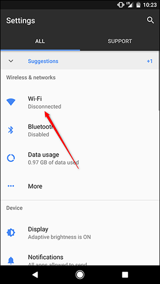 How to Turn Off Public Wi-Fi Notifications In Android
