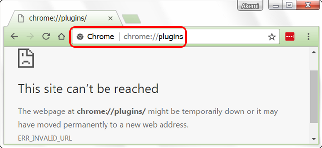 cannot update chrome components
