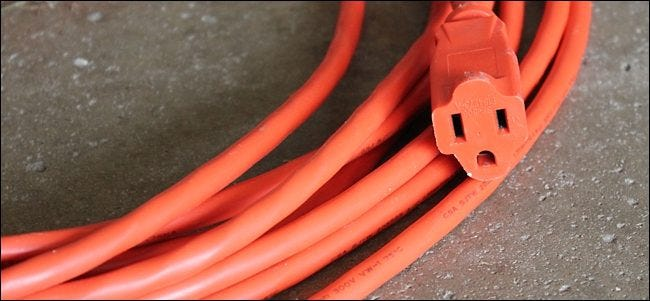 First Off Extension Cords Can Only Be So Long In General The Thicker Cord Is Gauge Wise Longer It Up To Around 150 Feet With