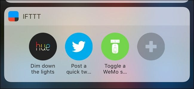 how to add ifttt shortcuts to your phone s home screen