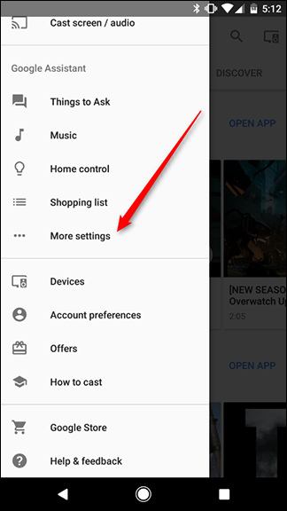 how to change address on google home