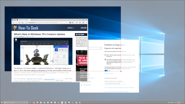 How to take screenshots in windows 10 this only works in windows 10s creators update on older versions of windows this shortcut is part of microsofts onenote application ccuart Image collections