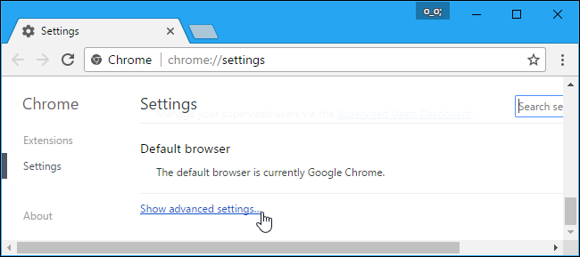 Turn Flash On Chrome