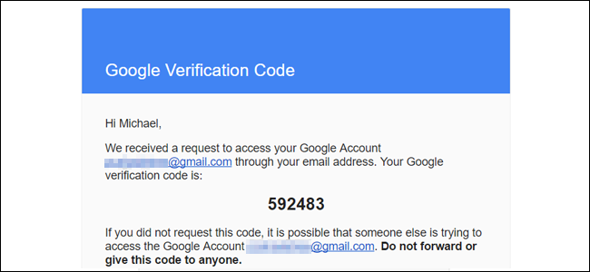 how to recover your gmail email address