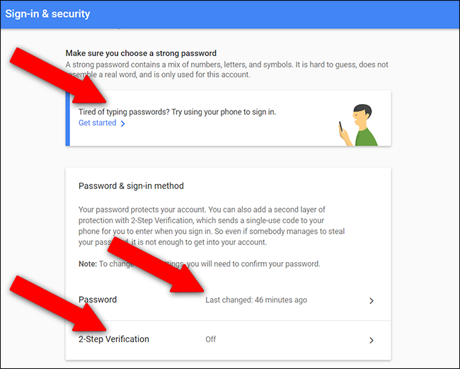 google account recovery by phone number