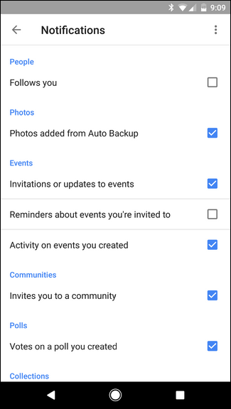 how to delete notifications in google+