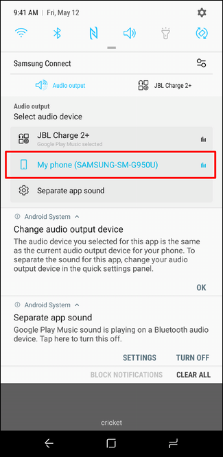 How to Play Bluetooth Audio from Only a Specific App on the