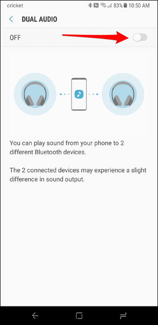 How To Play Bluetooth Audio On Two Speakers At The Same Time With The Galaxy S8