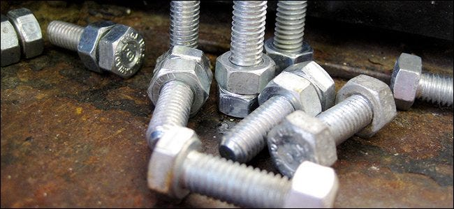 The Differences Between Screws, Bolts, and Nails (and When