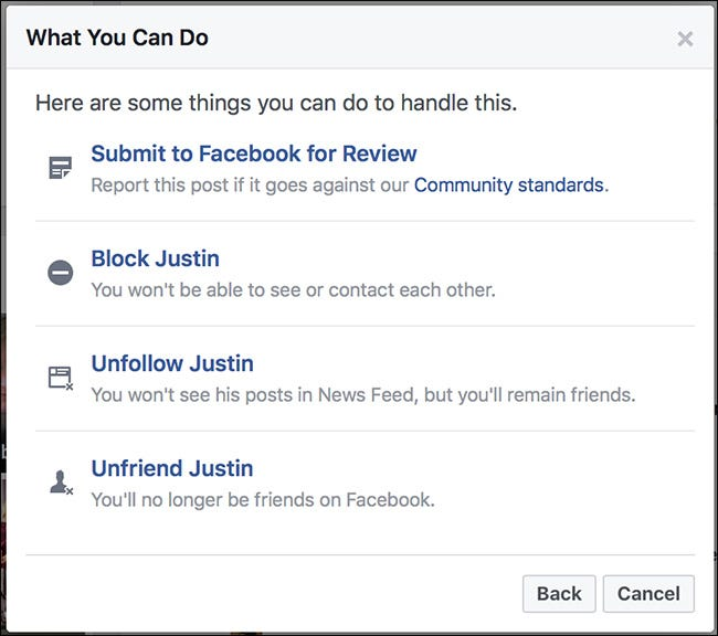 How to Report a Facebook Post