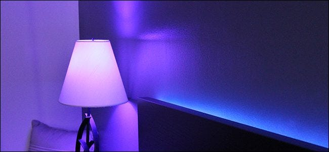 how to change the color of an entire room with philips hue. Black Bedroom Furniture Sets. Home Design Ideas
