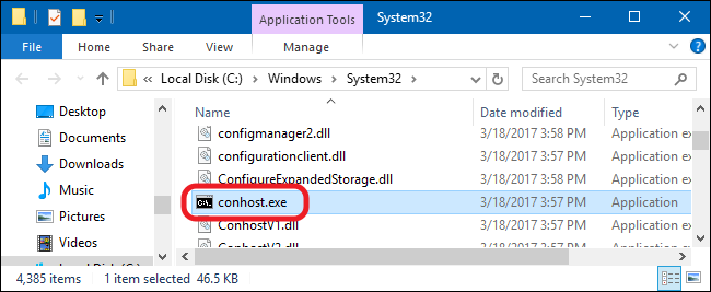What Is conhost exe and Why Is It Running?
