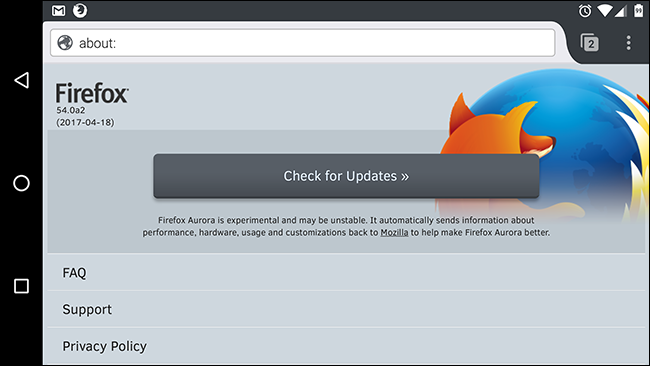 Which Version of Firefox Am I Using?
