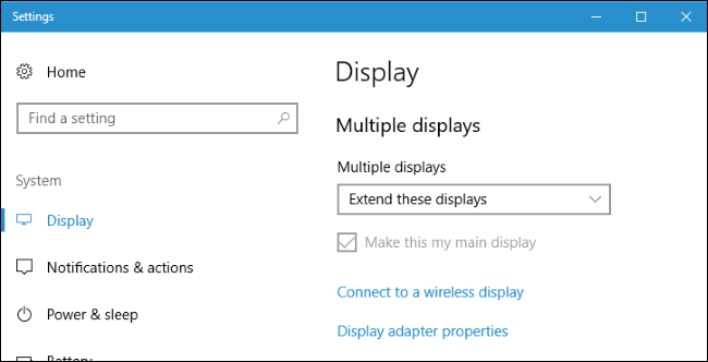 two displays windows 10 ▷▷ a c i