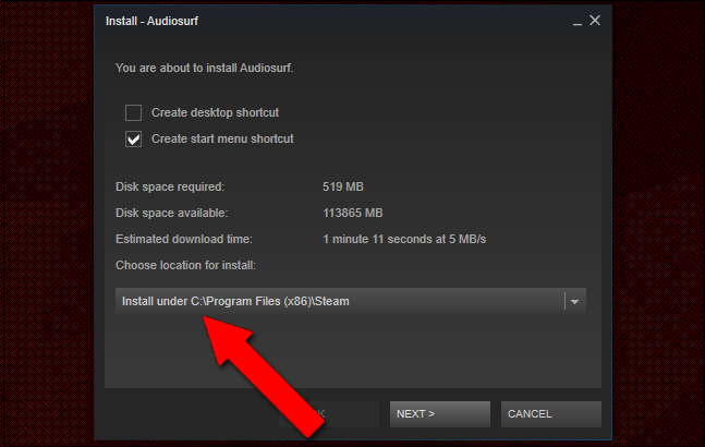 how to download steam game i already have