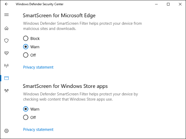 The u201cSmartScreen for Windows Store appsu201d filter is used when apps you download from the Windows Store access web content. It warns you before those apps ...  sc 1 st  How-To Geek & How to Disable the SmartScreen Filter In Windows 8 or 10