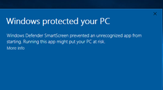 How the SmartScreen Filter Works in Windows 8 and 10