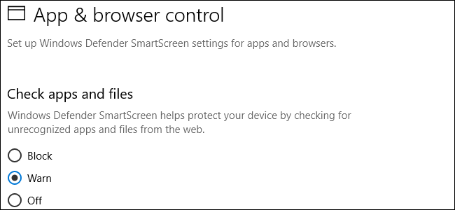 How to Disable the SmartScreen Filter In Windows 8 or 10