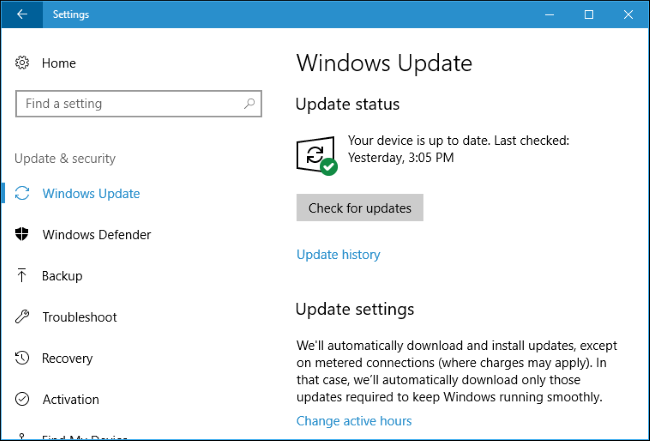 "How to Set ""Active Hours"" So Windows 10 Won't Restart at a"