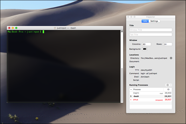 How to Use the Mac Terminal's Hidden Task Manager to See Background