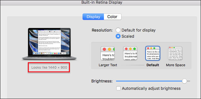 How to Make Text and Icons Bigger on Your Mac's Retina Screen