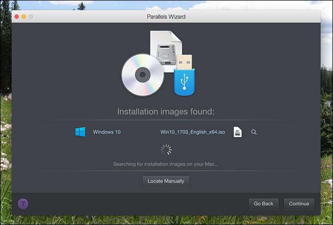Parallels Desktop Sharing Tools