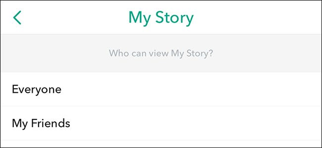 How to Block Certain People from Your Snapchat Story