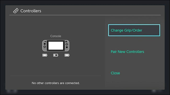 How to Change Your Nintendo Switch Controller Configuration