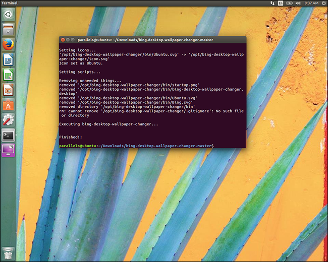 How To Use Bings Background Of The Day As Your Ubuntu Wallpaper