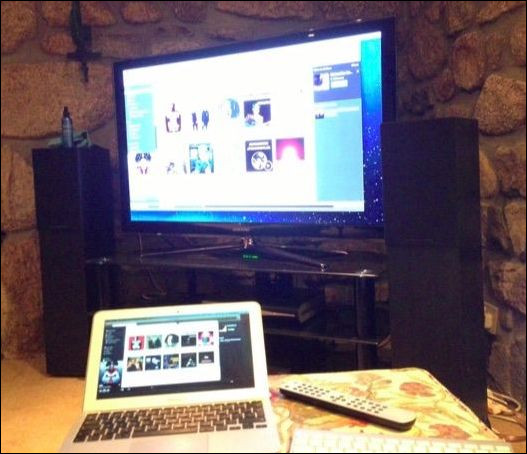 how to get tv on laptop